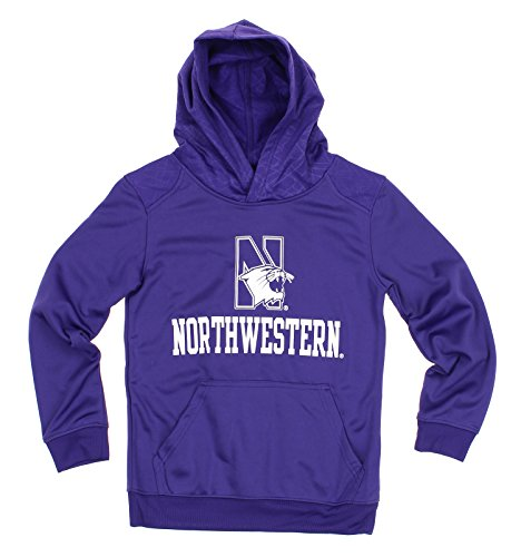 NCAA Youth Northwestern Wildcats Performance Hoodie