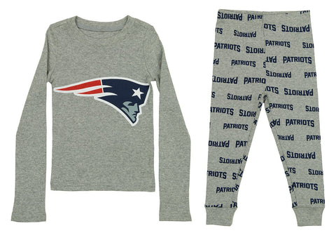 a93f257a3 OuterStuff NFL Toddlers New England Patriots Team Tight Fit Two-piece  Pajama Set