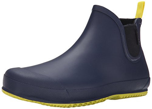 Tretorn Men's BO Rain Shoe, Navy/Yellow