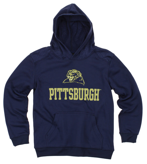 NCAA Youth Pittsburgh Panthers Performance Hoodie, Navy