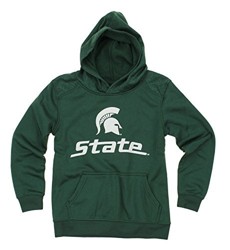 NCAA Youth Michigan State Spartans Performance Hoodie, Green