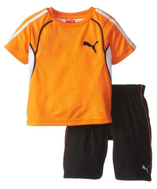 Puma Infant / Toddler / Kids 48 Perf Set Soccer Combo Shirt & Shorts - 3 Colors