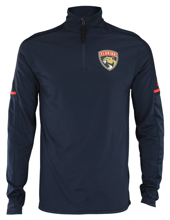 Adidas NHL Men's Florida Panthers 2017 Authentic Pro 1/4 Zip Wind Shirt