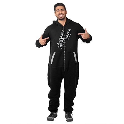 Forever Collectibles NBA Unisex San Antonio Spurs Logo Jumpsuit