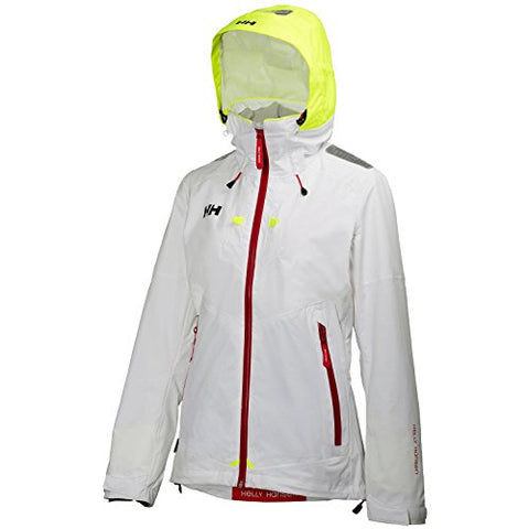 Helly Hansen Women's Crew Coastal 2 Jacket Coat - White
