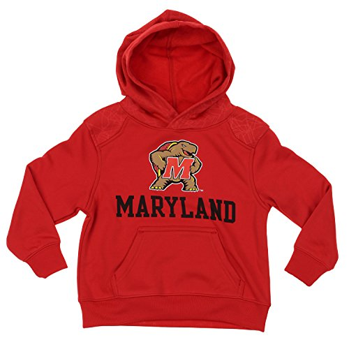 NCAA Kids Maryland Terrapins Performance Hoodie, Red