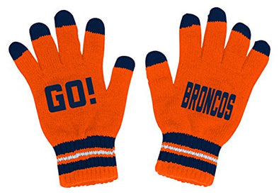 Outerstuff NFL Youth Boys (8-18) Denver Broncos Touch Screen Go Gloves, One Size