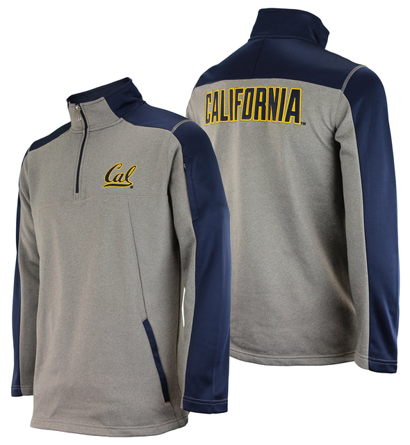 Outerstuff NCAA Men's California Golden Bears Performance Poly Fleece 1/4 Zip Up