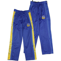 Zipway NBA Basketball Youth Golden State Warriors Paisley Tear-Away Track Pants, Blue