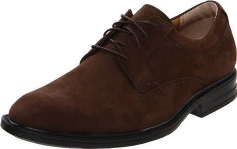 Clarks Men's Millbrook Avenue Oxford,Brown Nubuck