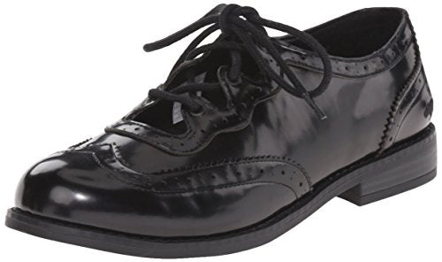 Rocket Dog Women's Melody Boxed in Pu Tuxedo Oxford Shoes, Black