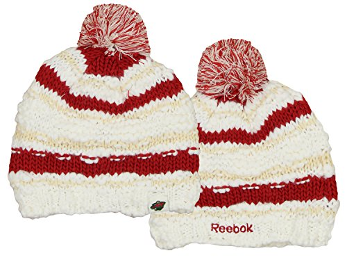 Reebok NHL Women's Minnesota Wild Cuffless Fashion Knit Hat