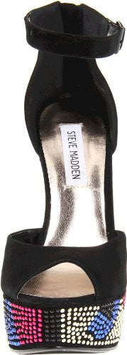Steve Madden Gimmick Women's Rhinestone Wedge Platform Shoes