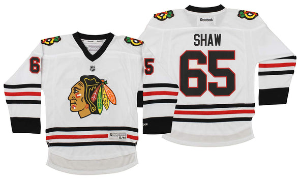 Reebok NHL Youth Chicago Blackhawks Andrew Shaw #65 Replica Jersey