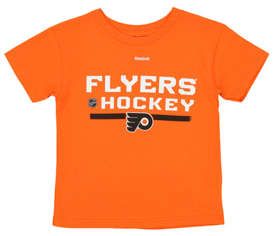 Reebok NFL Kids (4-7) Philadelphia Flyers Basic Performance Tee, Orange
