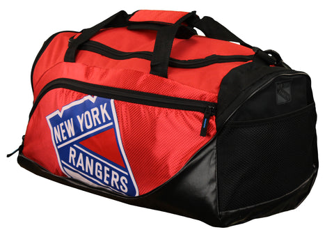 FOCO NHL Unisex New York Rangers Locker Room Collection Duffle Bag - Small