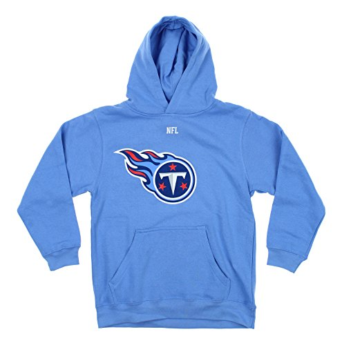 OuterStuff NFL Youth Tennessee Titans Team Logo Pullover Hoodie