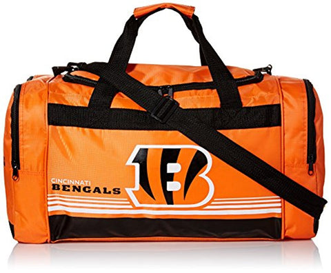 Cincinnati Bengals Medium Striped Core Duffle Bag