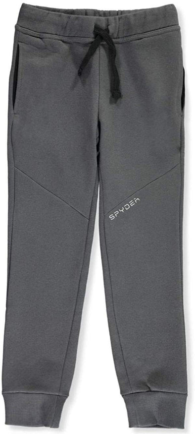 Spyder Boys Youth Saddle Fleece Joggers Ebony