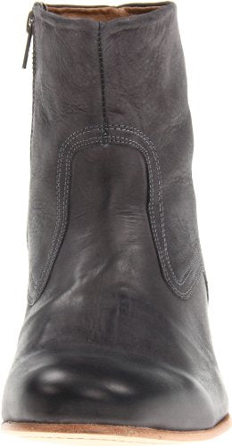 JD Fisk Puck Men's Spring Leather Boots, Black