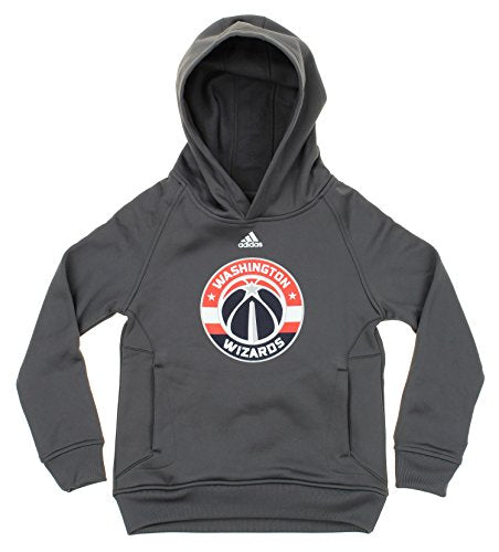 Adidas NBA Youth Boys Washington Wizards Logo Pullover Sweatshirt Hoodie