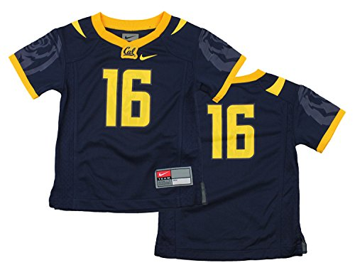 Nike NCAA Toddlers California Golden Bears #16 Football Jersey, Navy