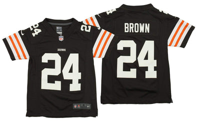 Nike NFL Youth Cleveland Browns Jim Brown #24 Retired Player Jersey, Brown