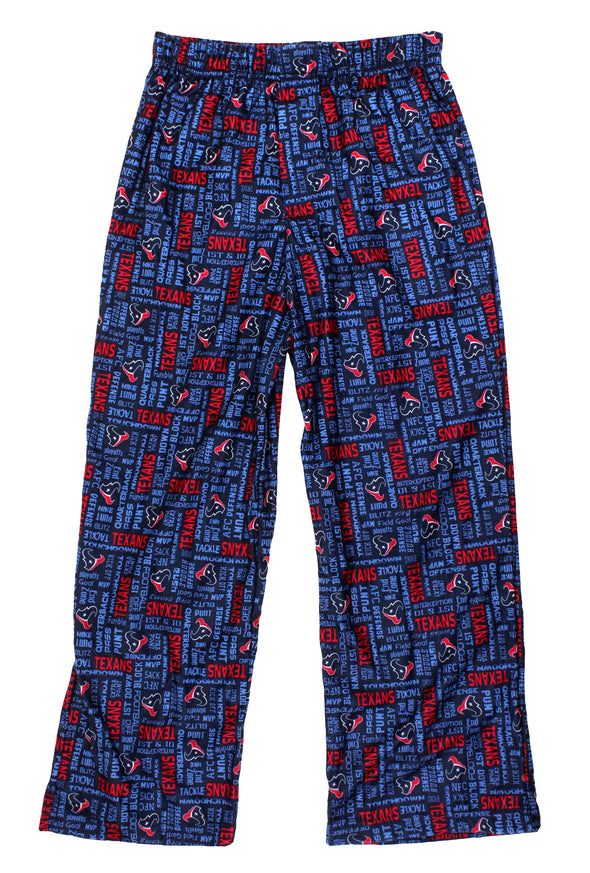 Gerber NFL Youth / Kids Houston Texans Team Pajama Lounge Pants, Navy