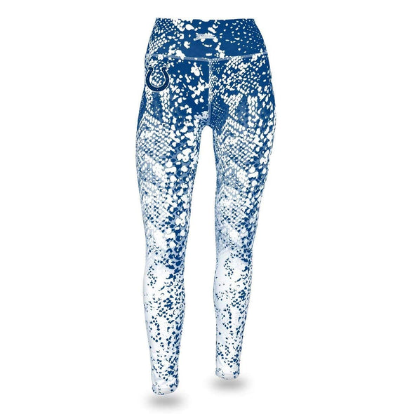 Zubaz NFL Women's Zubaz Indianapolis Colts Logo Leggings