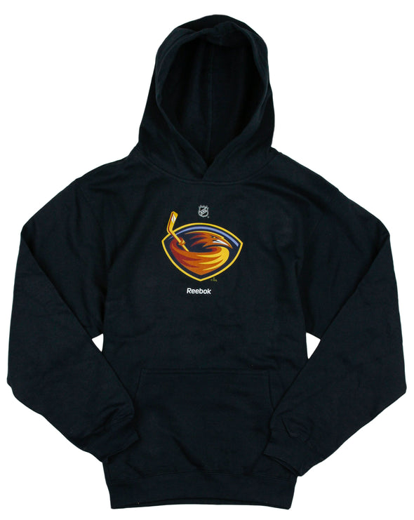 Reebok NHL Hockey Youth Atlanta Thrashers Classic Hoodie - Navy Blue