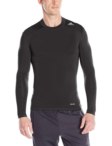 Adidas Men's Techfit Base Layer Long Sleeve Tee, Color Options