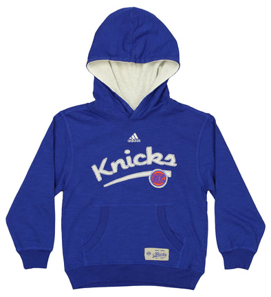 Adidas Basketball NBA Kids (4-7) New York Knicks Freedom Hoodie, Blue