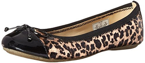 Sperry Little Kid/Big Kid Elise Flat, Rose/Leopard