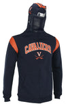 NCAA Youth Virginia Cavaliers Full Zip Helmet Masked Hoodie, Navy