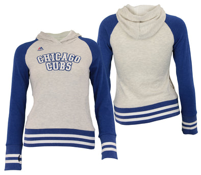 Majestic MLB Youth Girls Chicago Cubs Good Ol Days Hoodie