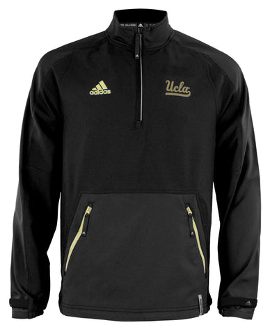 Adidas NCAA Men s UCLA Bruins ClimaLite Quarter Zip Pullover Jacket 95c904bef