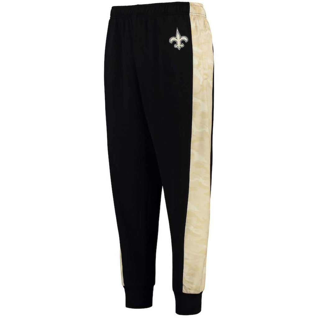 e630e8c2 Forever Collectibles NFL Mens New Orleans Saints Printed Poly Insert Jogger  Pants