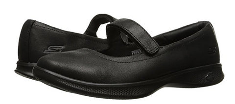 Skechers Women's Go Step Lite, Mary Jane, Black