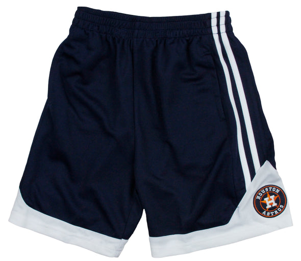 MLB Baseball Youth / Little Kids Houston Astros Play Dry Athletic Gym Shorts
