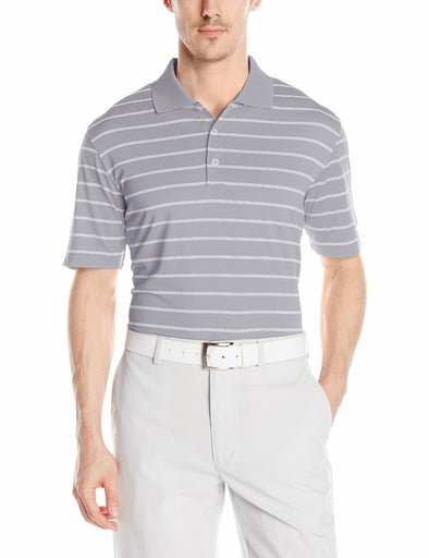 Adidas Golf Men's Basic Classic 2 Color Stripe Polo Shirt, Many Colors