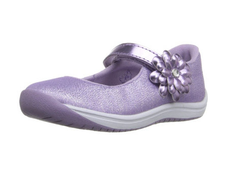 Stride Rite Toddler Haylie Mary Jane Shoe, Purple