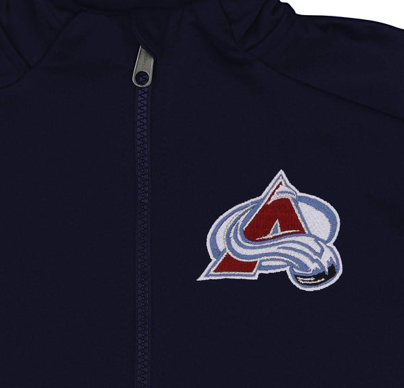 Outerstuff NHL Youth/Kids Colorado Avalanche  Performance Full Zip Hoodie
