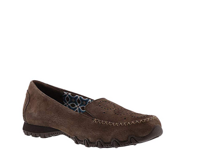 Skechers Women's Relaxed Fit Bikers Traffic Loafer, Chocolate