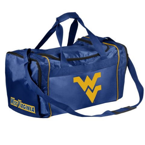 Forever Collectibles NCAA West Virginia Mountaineers Core Duffle Bag