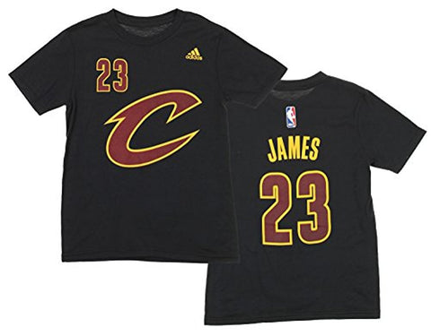 Adidas NBA Youth Cleveland Cavaliers Lebron James #23 Game Time Prime Tee