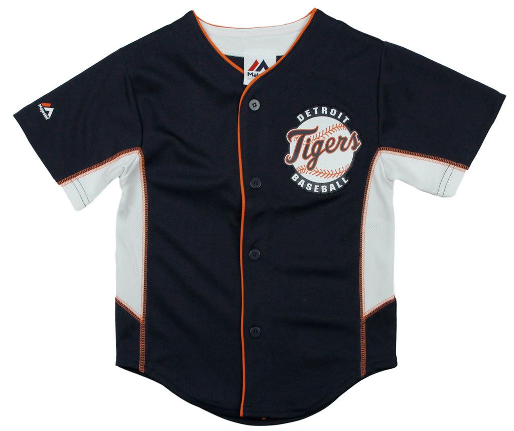 955404d8 Majestic MLB Baseball Toddlers Detroit Tigers Team Jersey - Blue