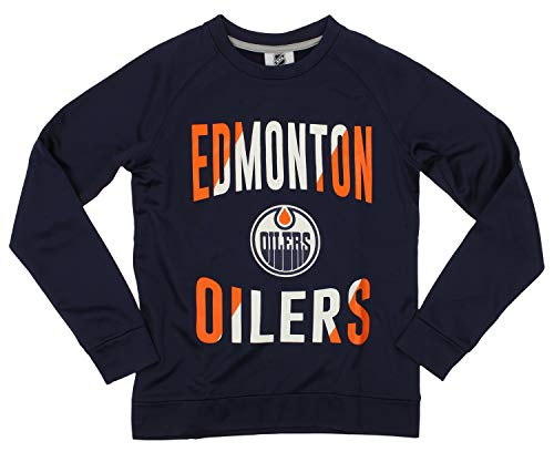 Outerstuff NHL Youth/Kids Edmonton Oilers Performance Fleece Sweatshirt