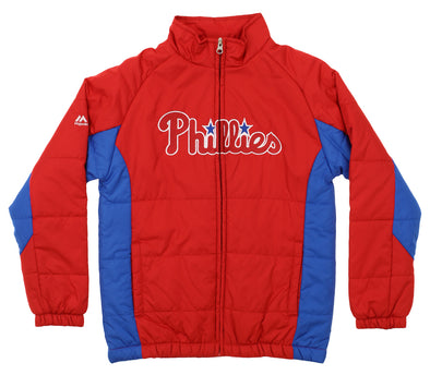 Outerstuff MLB Youth Philadelphia Phillies Double Climate Full Zip Jacket