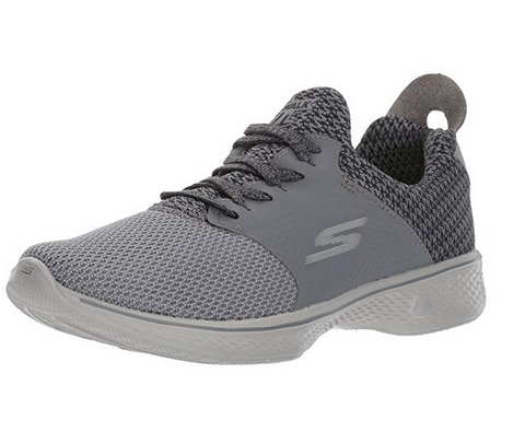 Skechers Performance Women's Go Walk 4 Sustain, Charcoal