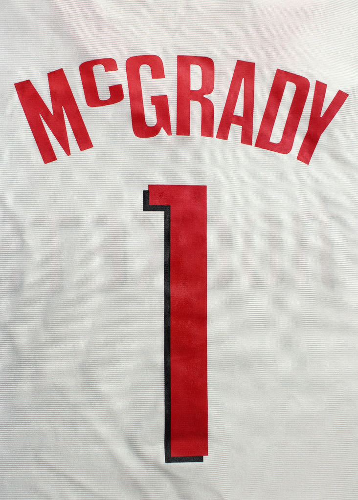 reputable site 3fd66 7669d NBA Basketball Men's Houston Rockets Tracy McGrady #1 Dazzle ...